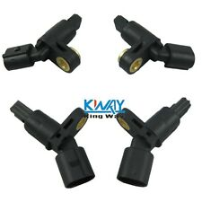 4 pcs Front & Rear Left & Right ABS Wheel Sensor Fit VW AUDI MK4 Golf TT Beetle