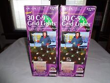 2 Professional Series Plus 30 C-9 1/4 Grid Lights String To String