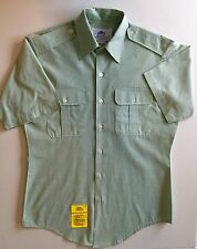 DSCP HARRISON COLLECTION PERFECT FIT SHORT SLEEVE MILITARY ARMY SHIRT 15 1/2