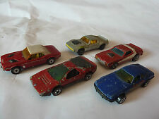 MATCHBOX 1 Dodge 9 Amx Javelin HOT WHEELS Carabo 1969 Torino Stocker Jaguar XJS