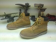 DIE HARD DISTRESSED BROWN LEATHER LACE UP WORK CHORE TRAIL BOSS BOOTS SIZE 12 D