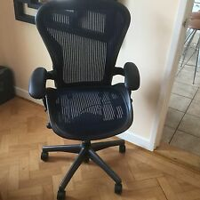 Herman Miller Aeron B Size Blue Fully loaded