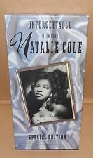 Natalie Cole Unforgettable With Love Special Edition CD & VHS 22 Songs 83E