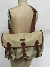 Rare Leica Vintage Camera Canvas Bag Shoulder Cross Body