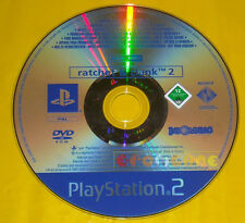 RATCHET & CLANK 2 Ps2 Versione Promo Europea gioco completo e and »»» SOLO DISCO