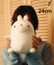 9'' White Molang Rabbit Stuffed plush soft Toys Doll  Kids Brithday Xmas Gift