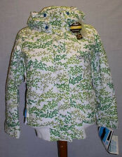 $240 NEW 1o.OOOmm SPECIAL BLEND SPICE INSULATED SNOWBOARD JACKET WOMENS XS GRN