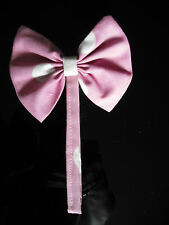 BABIES ~ DOLLS MAGNETIC PRAM HOOD CORSAGES ~DECORATIONS  IN PINK SPOT AND CREAM