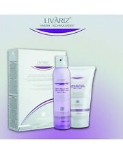 LIVARIZ CREAM 100ml & SPRAY 100m- VARICOSE VEINS TREATMENT REMOVER KIT NATURAL