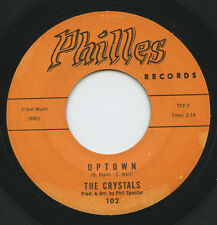 Hear - Rare Rock&Roll 45 - The Crystals - Uptown - Philles Records # 102