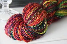 RAINBOW -100g allerfeinste Merinowolle (weich wie Kaschmir) handgesponnen