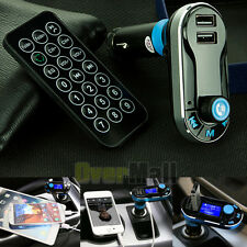 Newest Bluetooth Car Kit MP3 Player FM Transmitter SD LCD Dual USB Charger