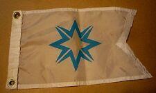 VINTAGE Nautical Sailing Boating, Flag Banner pennant burgee