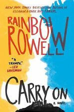 Carry On by Rainbow Rowell (2015, Hardcover)