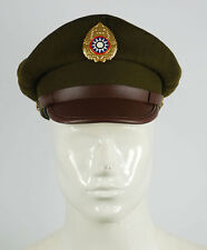 WW2 CHINESE NATIONALIST FORCES KMT KUIMINGTANG ARMY SERVICE CAP L-32638