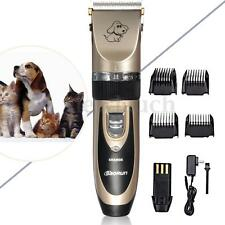 Professional Mute Set Pet Cat Dog Fur Hair Cordless Clipper/Trimmer/Shaver Kit