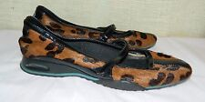 Cole Haan Flats mary jane strap  Shoes Sz 7Womens Leopard Animal Pony Cow Hair