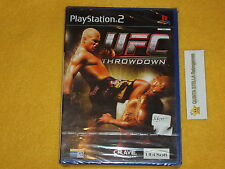 UFC THROWDOWN  PS2 SONY PLAYSTATION 2 PAL VERS. ITALIANA NUOVO SIGILLATO