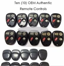 LOT 10 10246215 Factory OEM KEY FOB Keyless Entry Remote Alarm Clicker Beepers