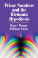 Prime Numbers and the Riemann Hypothesis, Stein, William, Mazur, Barry, New Book