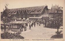 Carte postale-DEAUVILLE/flagello Fleurie-Nouvel Hippodrome de Claire-Fontaine