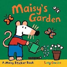 Maisy's Garden A Sticker Book BRAND NEW BOOK by Lucy Cousins (Paperback)
