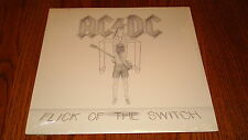 AC/DC FLICK OF THE SWITCH ORIGINAL LP FACTORY SEALED MINT!  1983