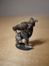 Fighter With Axe & Shield Metal Miniature Painted D&D Dungeons & Dragons Citadel
