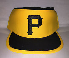 Vtg Pittsburgh Pirates Pillbox Snapback hat cap  Youngan MLB Nwot sga pillbox