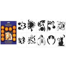 Halloween Pumpkin Carving Stencil Book (A241229)