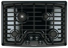 "NEW Electrolux 30"" Black Gas Cook Top Cooktop Stovetop EW30GC55GB"