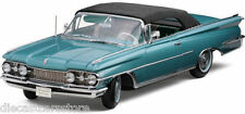 1959 OLDSMOBILE 98 AQUA MIST METALLIC/BLACK 1/18 MODEL BY SUNSTAR 5232