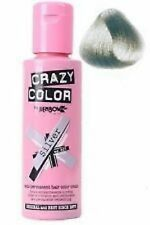 Crazy Color por Renbow Tinte Pelo Semi Permanente Crema En Plata No.27 100ml