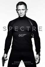 "007 SPECTRE 2015 Advance Teaser DS 2 Sided 27X40"" US Movie Poster Daniel Craig"