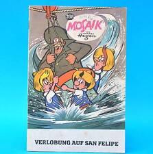 Mosaik 208 Fehldruck | Digedags Hannes Hegen Originalheft | DDR | Sammlung RR 1