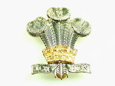 RRW ROYAL REGIMENT OF WALES REGIMENTAL CAP BADGE