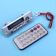 3.7-5V MP3 Decoder Board Time Display Support U-Disk TF Card FM Radio Function