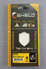 HTC EVO SHIFT 4G ZAGG MILITARY FULL BODY Invisible Protective Shield NEW