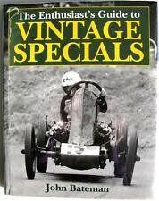THE ENTHUSIAST'S GUIDE TO VINTAGE SPECIALS JOHN BATEMAN, MOTORSPORT CAR BOOK
