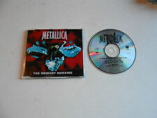 METALLICA-THE MEMORY REMAINS-CD-PLASTIC CASE EDITION-NEW-AUSTRALIA-1997