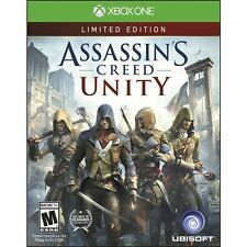 New Assassin's Creed: Unity - Limited Edition (Xbox One, 2014) -Factory Sealed