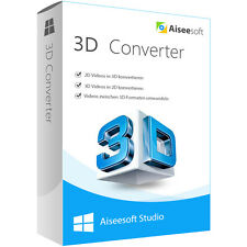 3D Converter Aiseesoft dt. Vollversion-lebenslange Lizenz ESD Download