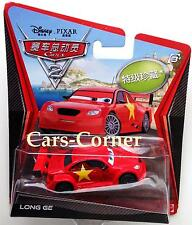 DISNEY Pixar Cars 2 LONG GE-CHASE CAR 2011-EDIZIONE LIMITATA EDITION-NUOVO & OVP