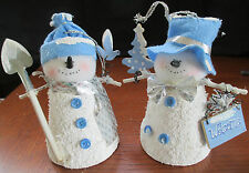 House of Lloyd Snowbell Snowman bells Christmas Around the World