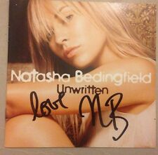 NATASHA BEDINGFIELD SIGNED UNWRITTEN CD ALBUM POP MUSIC 100% AUTHENTIC