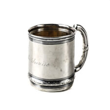 Gorham Sterling Silver Child's Cup #3721, Aesthetic Movement