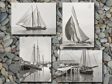 Schooners yachts sailing fishing MA 1893-1905 photos lot CHOICES 5x7s or 2 8x10s