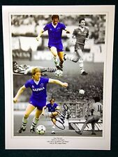 Gary Stevens Signed Everton Large Photograph