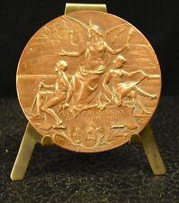Médaille Republica Argentina Puerto del Rosario 1902 Julio Roca Emi Civit medal