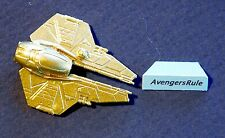 Star Wars Micro Machines 2016 Series 5 Anakin's Jedi Starfighter Gold